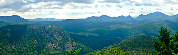 SE east panoramic view from Zeacliff Ledge - A.