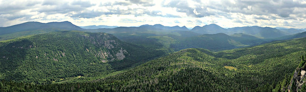 SE east panoramic view from Zeacliff Ledge - B.
