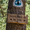 This convoluted figure-eight route used the PCT twice.