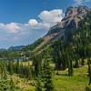 Basin Lake, where I spent the night