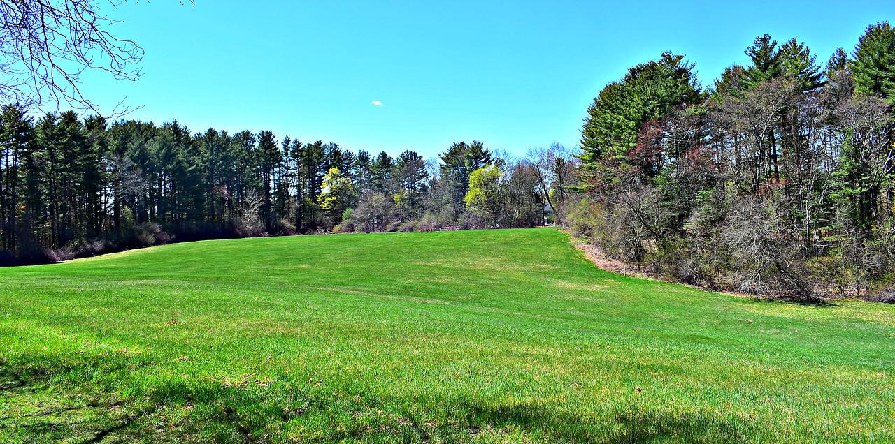 Bathtub Field, at Audubon Drumlin Farm Reservation.