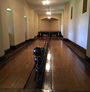Bowling alley - among the first.