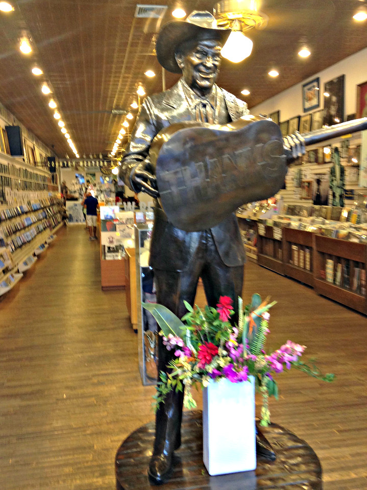 Ernest Tubb Record Shop, on Broadway around the corner from the Ryman.