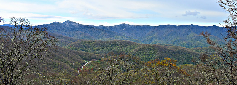 Blue Ridge Parkway - Plott Balsam Overlook