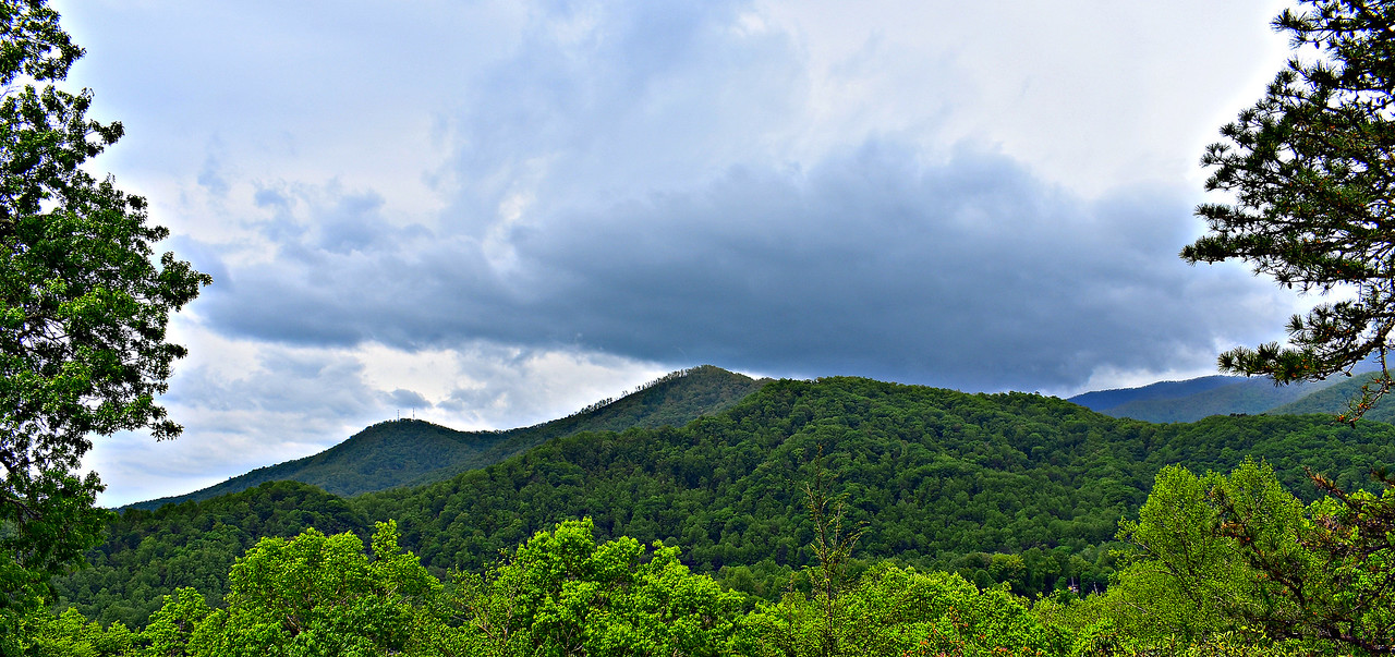 Blue Ridge Parkway - Oconaluftee Overlook.