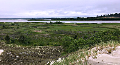 Looking over the east end of Castle Neck.
