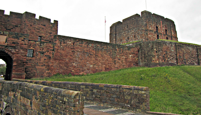 Carlisle Castle - the most beseiged place in the U.K.