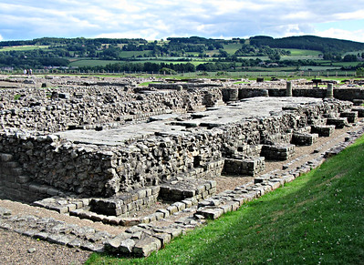 Corbridge Roman Fort - Granary.