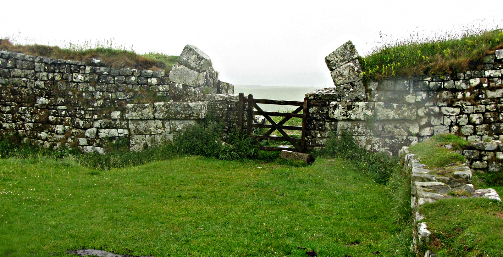 Milecastle 37 - note the arched gate.