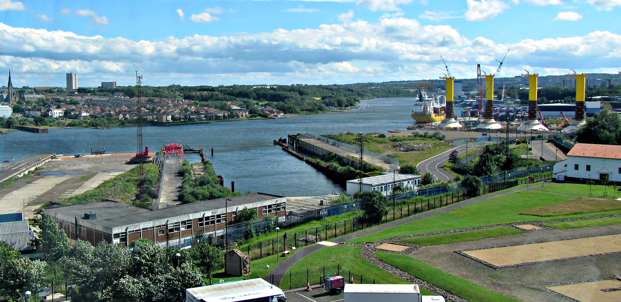 How Segedenum melded into Newcastle's shipbuilding industry, now past.