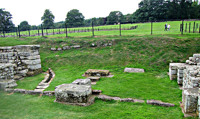 Chesters Fort - North Gate.