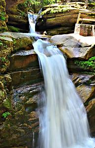 Upper Sabbaday Falls.