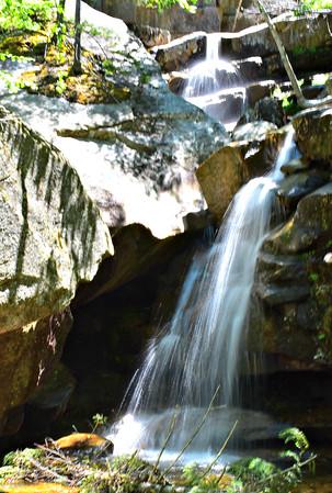 Kancamagus Waterfalls - Lower, Sabbaday and Champney (June 14)