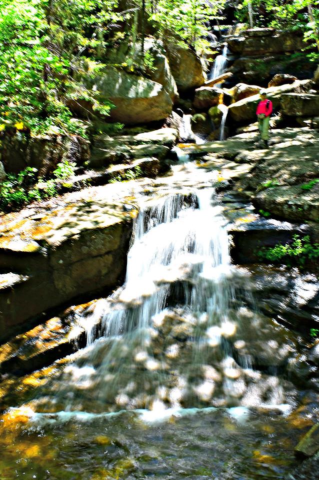 Upper Champney Falls.