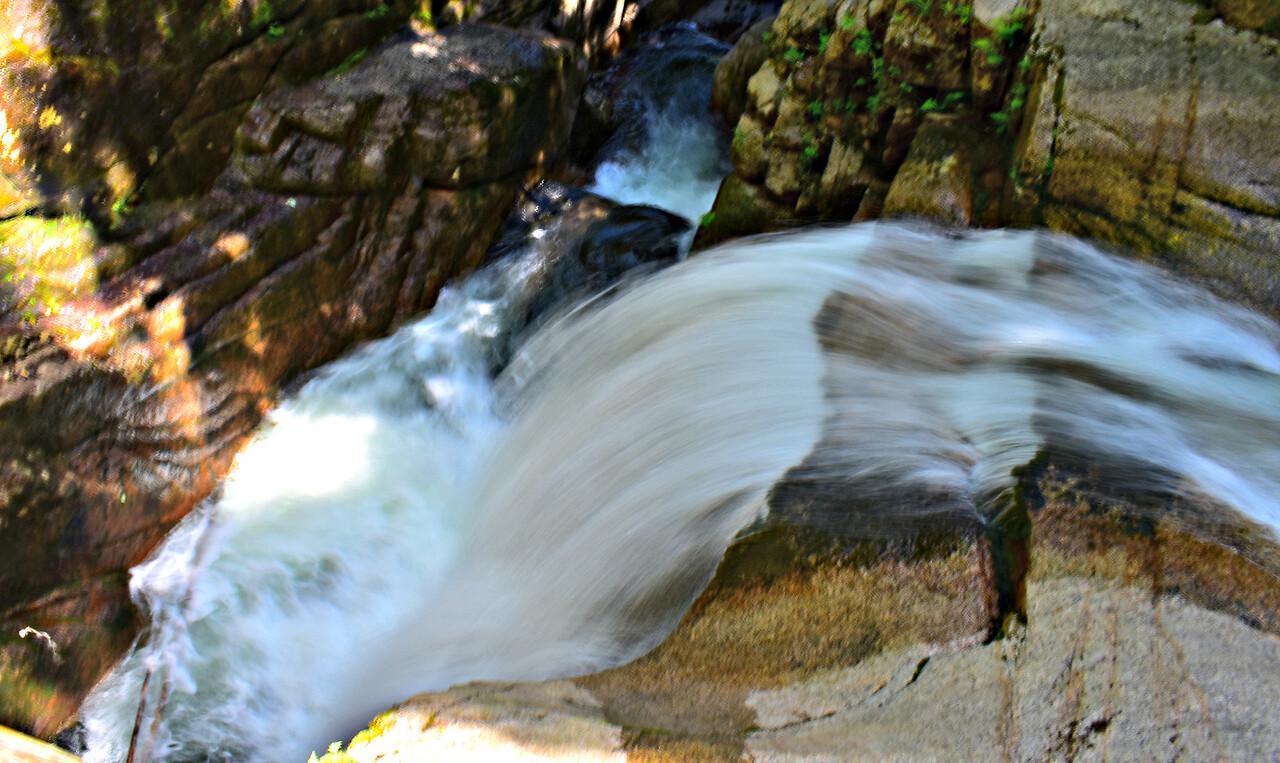 Top of Sabbaday Falls.