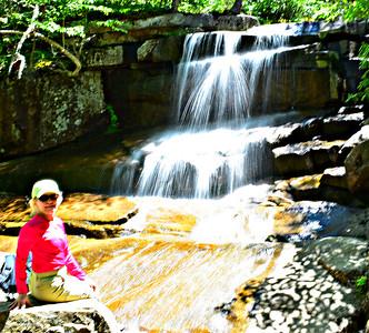 Champney Falls, with Naiad.