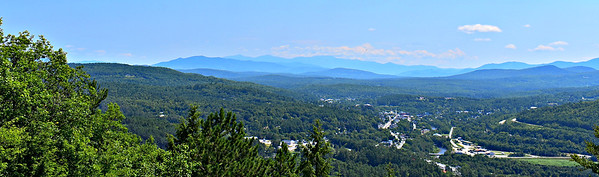 Looking east, over Littleton and the Ammonoosuc River.