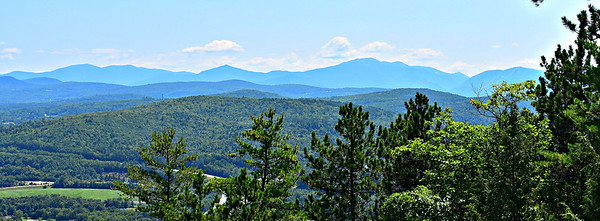 Looking SSE.  Cannon at far right.