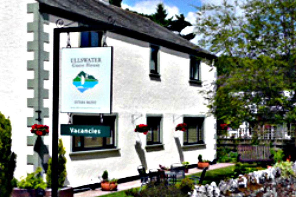 Ullswater Guest House (stock photo); another great breakfast.