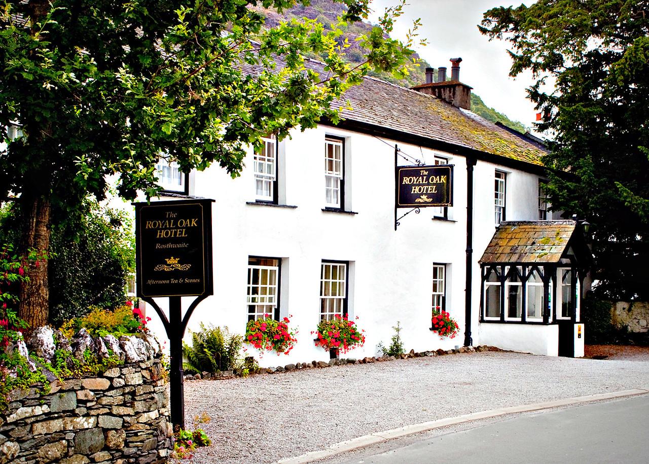 The Royal Oak, Rosthwaite (stock photo). Another great family-run inn.
