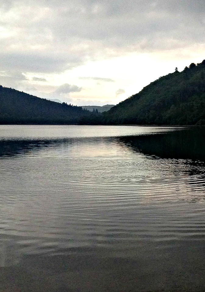 Thirlmere at twilight.