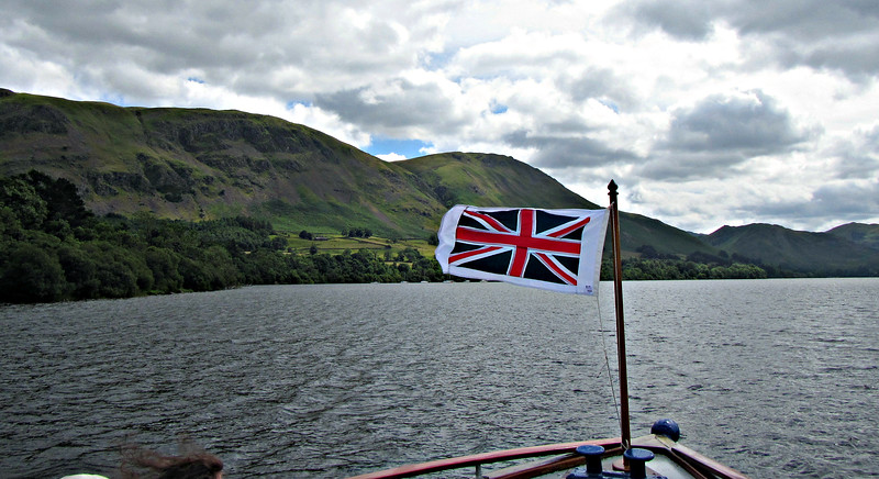 On the Lady of the Lake - the world's oldest operating ferry.