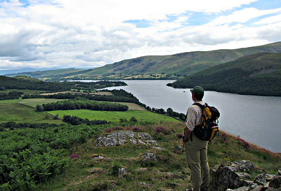 Looking at the north end of Ullswater.