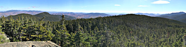 From Mt. Moriah, really wide panorama.