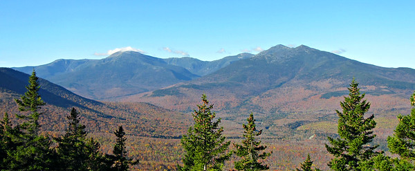 The Presidentials, from a little higher up Mt. Surprise.