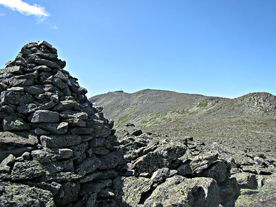 Washington summit from the top of Nelson Crag.