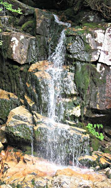 Little Falls on Dry Brook - Little Haystack branch.