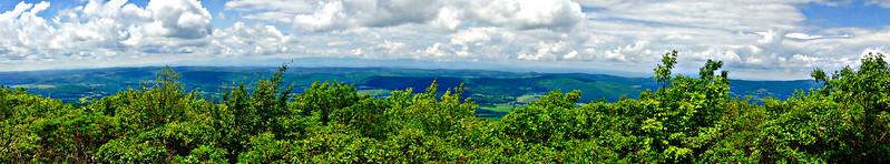 Prospect Hill summit on my return.