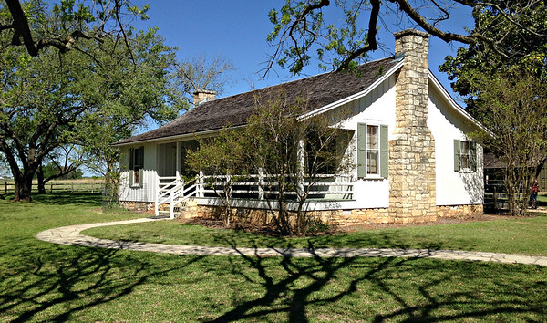 LBJ birthplace, on his Ranch