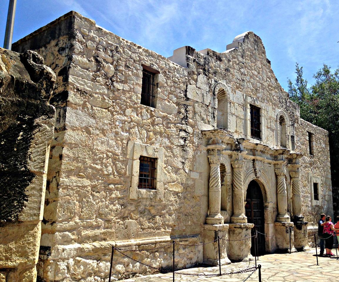 We'll remember the Alamo.
