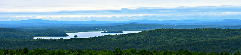 Both Sides of Androscoggin - Mt. Pisgah and Monument Hill (July 14)