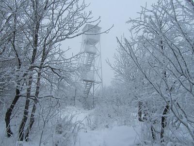 Azure Mountain Fire Tower December 04, 2010   FTC 9r