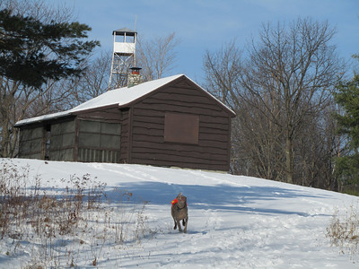 Beebe Hill Fire Tower December 11, 2010
