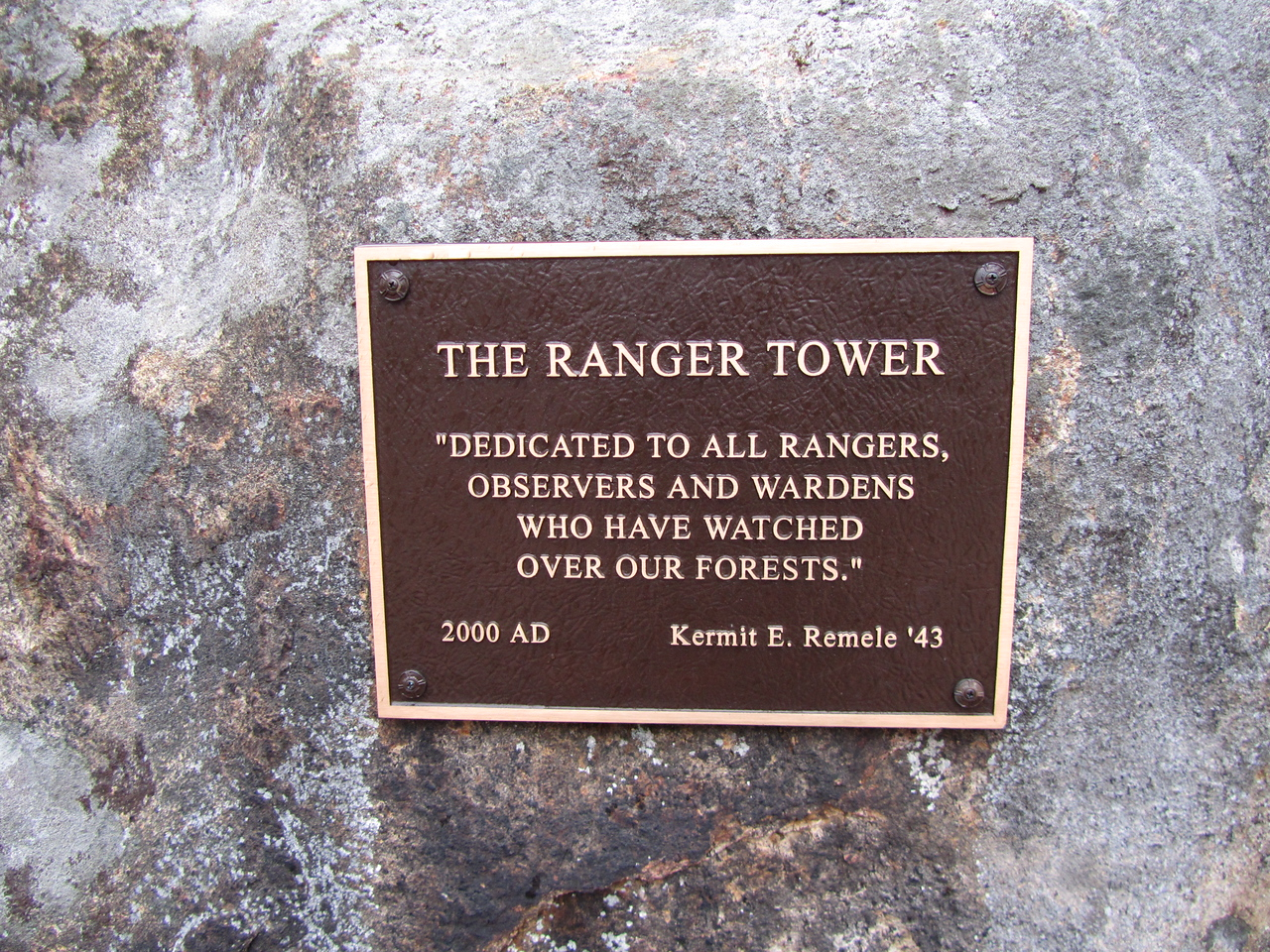 Thank you rangers, for keeping the forests fire-free.