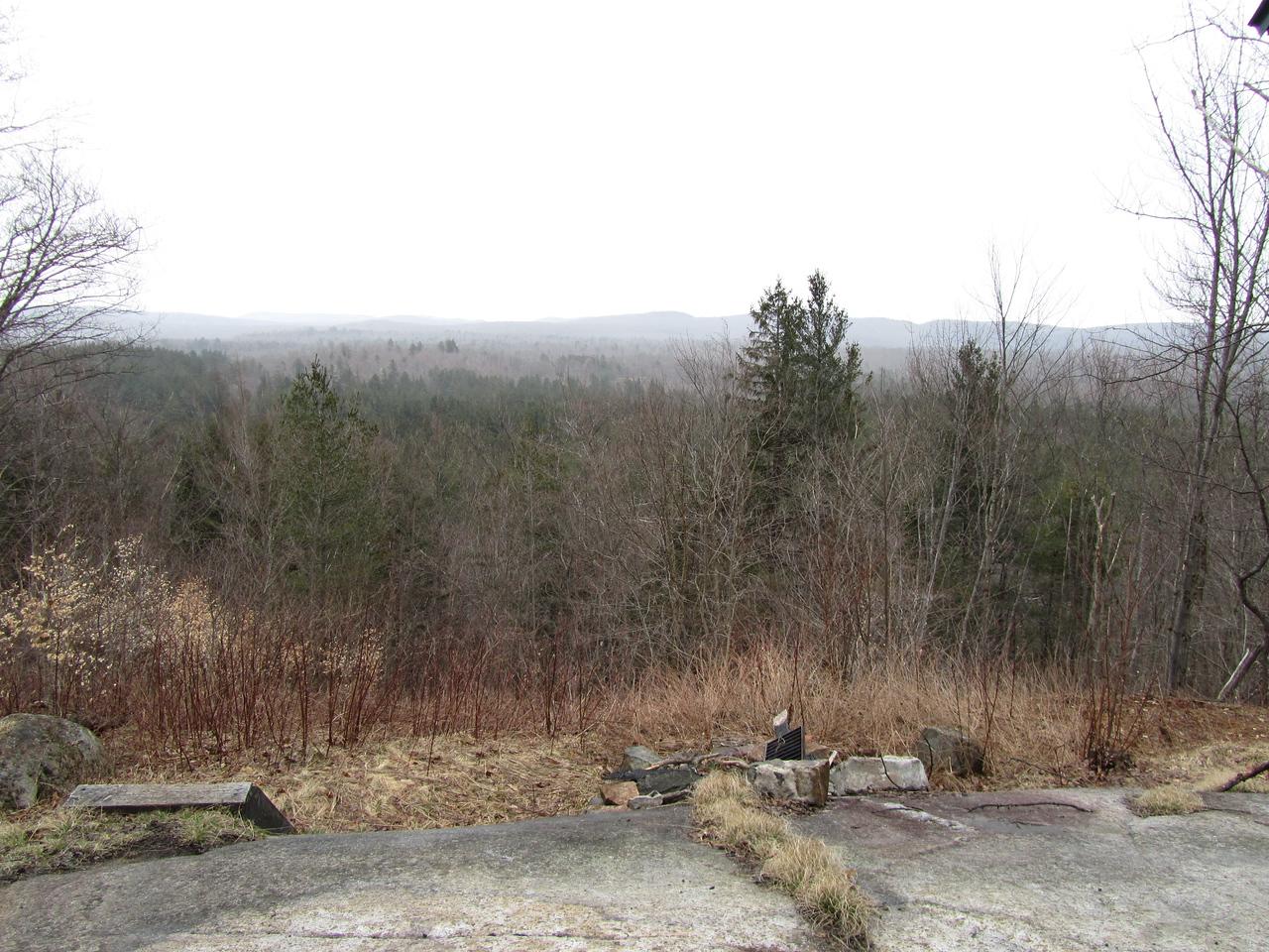 "View near the ""summit""."