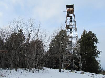 Dickinson Hill Fire Tower December 11, 2010