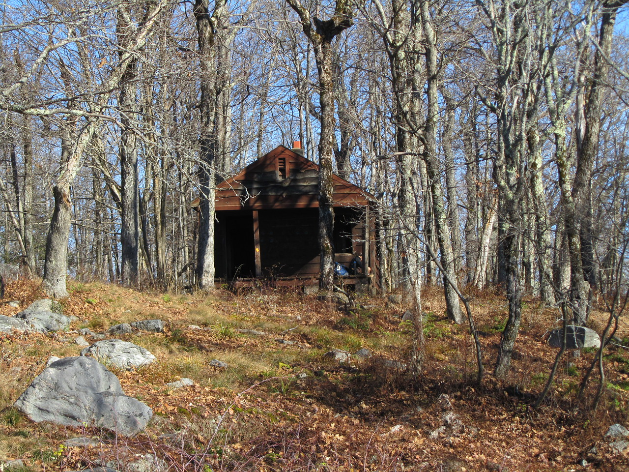 Ranger cabin from the west.