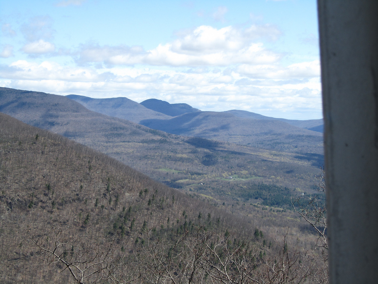 Looking north towards Hunter Mountain