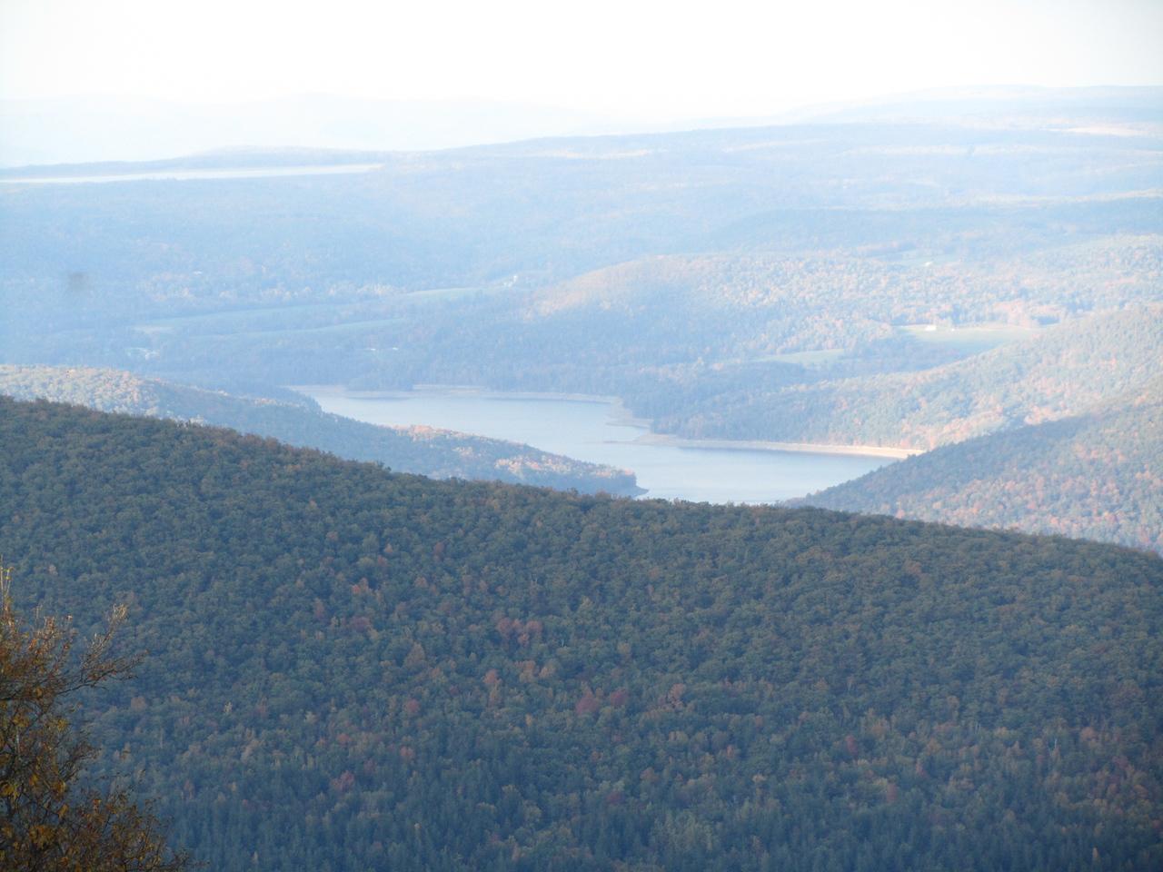 View of Schoharie reservoir.