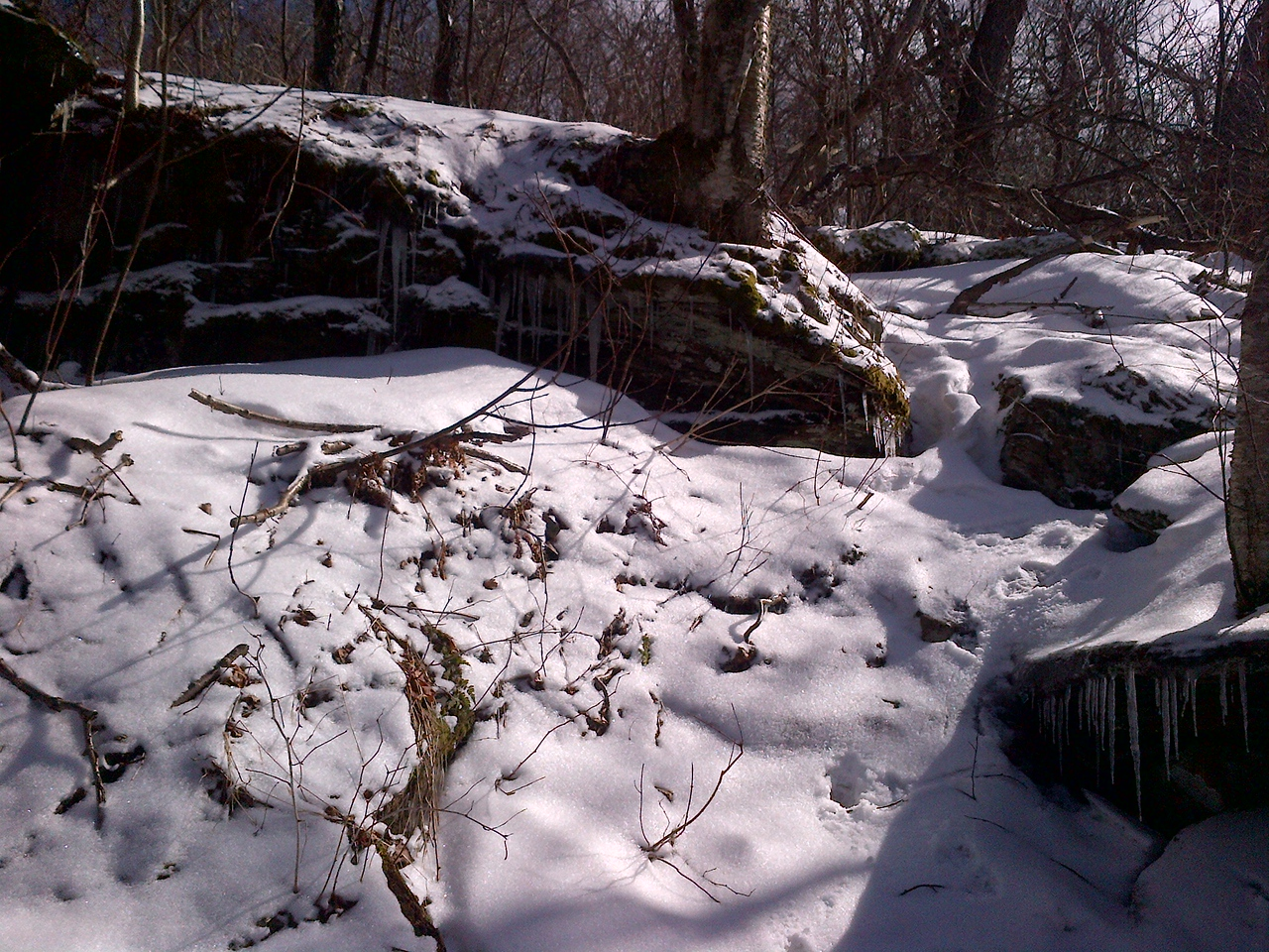One final icy creek to manage.