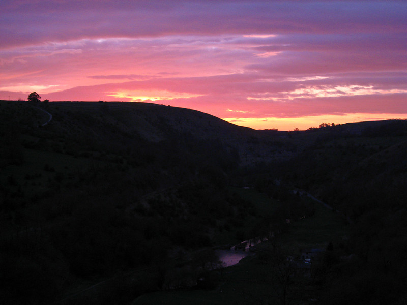 Monsal Head sunset