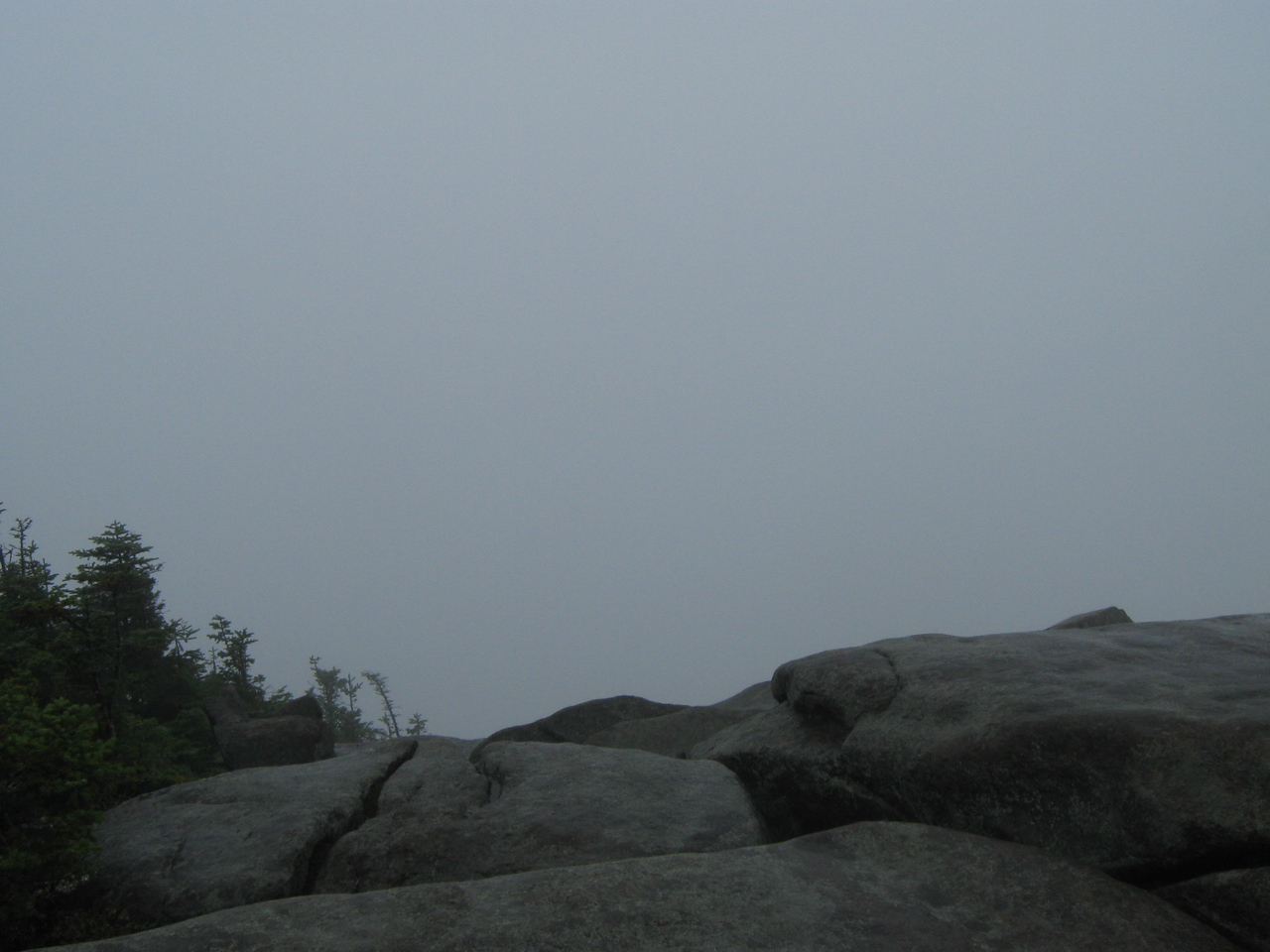 After the torrential downpour, we summited Giant and were rewarded with this view.