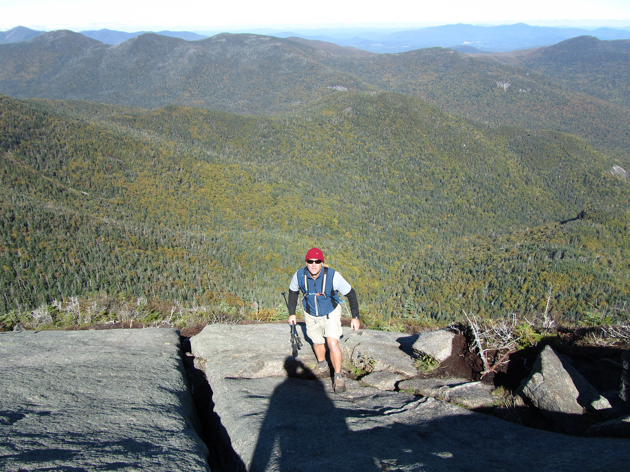 Amazing views. gothics is one of the best ranking views in the ADK.