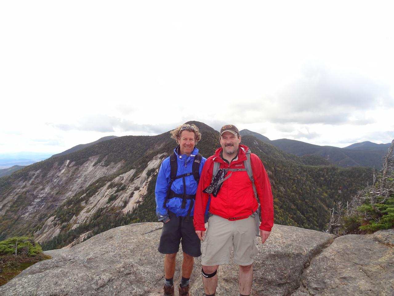 The summit of Saddleback.