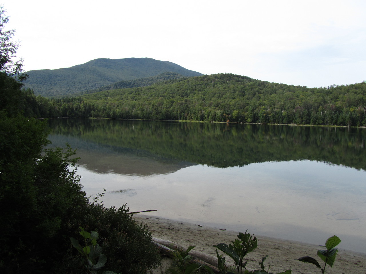 Heart Lake at the Adirondack Loj.