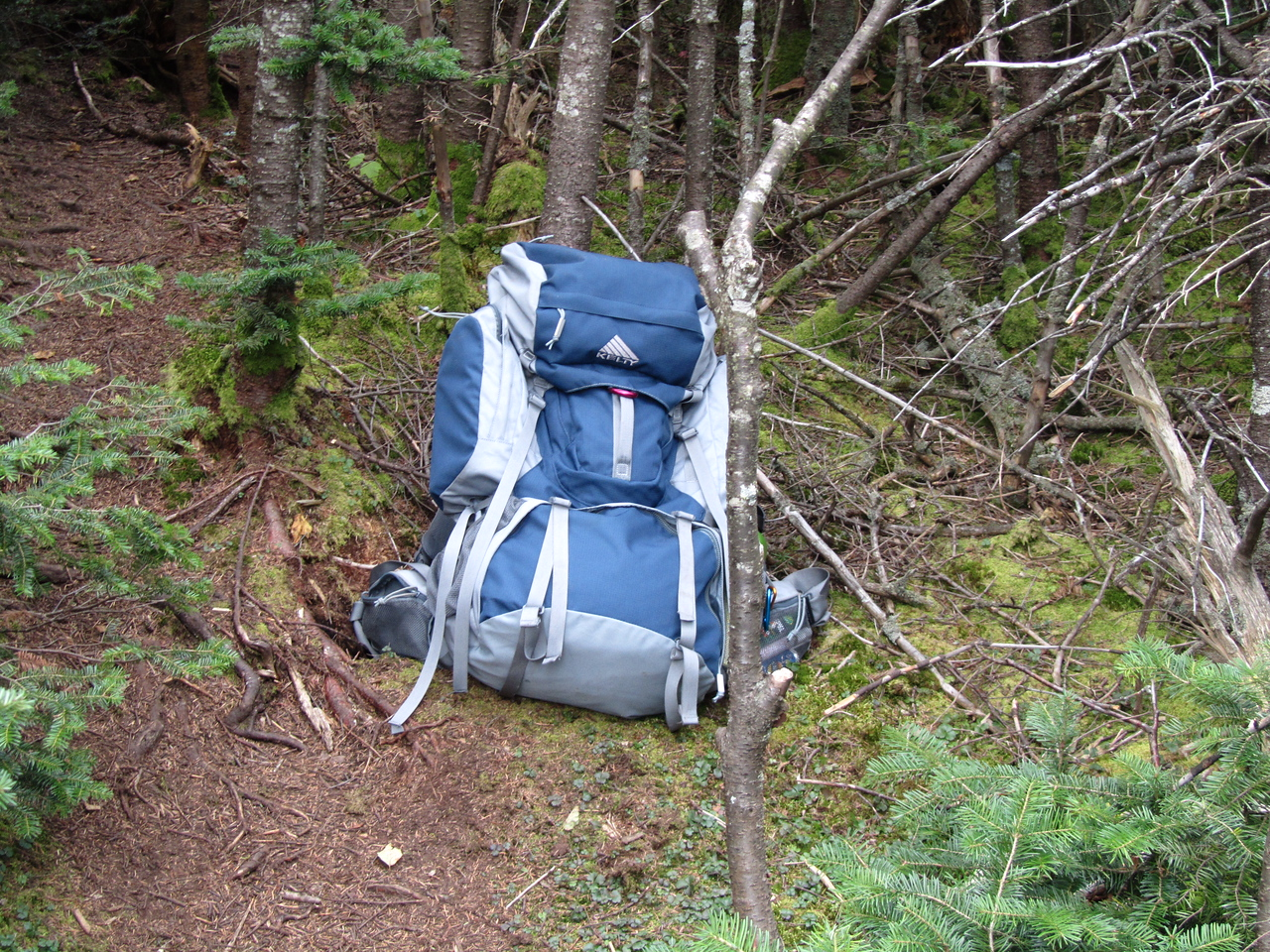 One of my first trips with the new pack. Now it is covered in mud and blood and bug spray and coffee and fish guts.